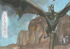 Game of Thrones Season 7, Lee Lightfoot Sketch Card