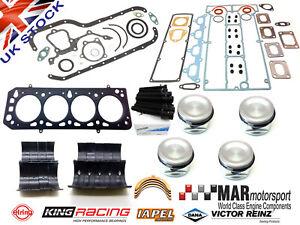 Cosworth YB Engine Kit, REINZ WRC Gasket, MAHLE Pistons, Bearings, Full Gaskets