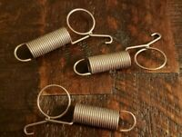 3 pack Finger Loop with Spring Cage Latch.  Rabbit, Quail, Small Animal Cage