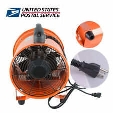 USA Ventilation 10-In Fan Blower Gas Paint Garage Shop Home Fan Blow Dust Top
