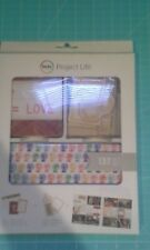 Project Life Becky Higgins kit  American crafts title journaling wood shapes