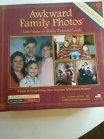 AWKWARD FAMILY PHOTOS Board Game Night Funny Pictures Laughs Complete