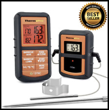 ThermoPro TP08S Wireless Digital Meat Thermometer W/ Dual Probe For Grilling BBQ