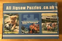 ALL JIGSAW PUZZLE COLLECTION ~ ALL STILL SEALED ~ 4 x 1000 piece