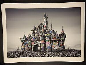 Roamcouch & Jeff Gillette Dismaland CASTLE RUINS Print xx/250 S/N Banksy