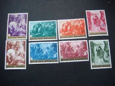 Rwanda 1967 Paintings set of 8 stamps see scans MH SG 208-215 Cat £3.50