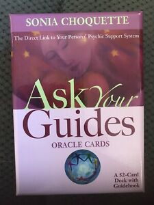Sonia Choquette Ask Your Guides Oracle Cards  52 Card Deck With Guidebook