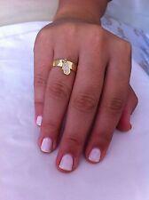 Hamsa ring, gold hamsa, personalized ring,gold filled 14k,hamsa charm zirconim
