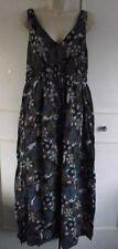 Vestiti da donna lunghezza totale in cotone con scollo a v