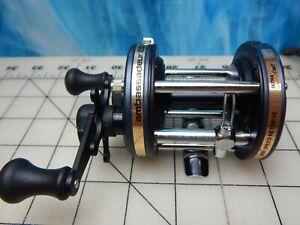 Vintage Fishing Reel ABU GARCIA Ambassadeur 650 plus bait casting rod lure