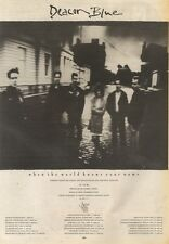 8/4/89Pgn02 Advert: Deacon Blue Album 'when The World Knows Your Name' 15x11