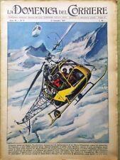 La Domenica del Corriere 17 Settembre 1958 Modugno Volare Cristo Abissi Baldini