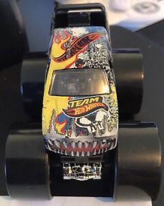 Yellow Rim Blue Red Team Hot Wheels Monster Jam 2016 Car Truck 1:64