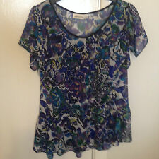 Sussan Polyester Regular Floral Tops & Blouses for Women