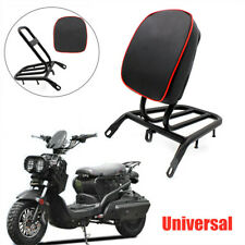 Motorcycle Electric Bike Backrest Rear Shelf Luggage Rack Cushion Pad Refitted