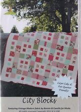 City Blocks - simple pieced quilt PATTERN - Sweet Jane - great for precuts