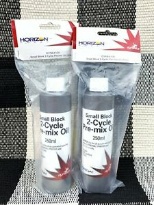 2 Horizon Hobby Dynamite High Performance Small Block 2 Cycle Pre-mix Oil, 250ml