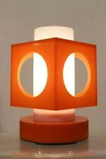 Lampe vintage plastique période Space Age pop ufo - Italie 1960s