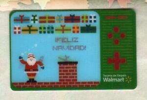 WALMART ( Puerto Rico ) Santa Video Game 2010 Lenticular Gift Card ( $0 )
