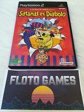 Jeu Les Fous Du Volant Satanas et Diabolo PS2 Complet CIB - Floto Games