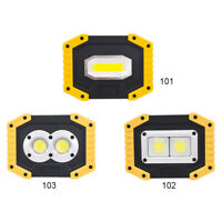 30W LED Work Light With USB Port 2 X COB Light Lighting For-Outdoor-Rechargeable