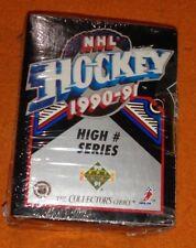 1990-91 Upper Deck Hobby High Series Set Box Sealed Ice Hockey Cards