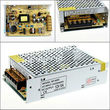 Universal 12V 5A 60W AC/DC Voltage Converter Regulated Switch LED Power Supply