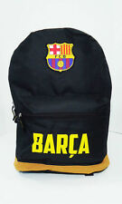 Barcelona backpack Black Brown school mochila bookbag cinch bag Fc Barcelona