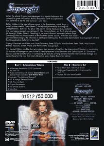 Supergirl (DVD, 2000, 2-Disc Set, Limited Edition)
