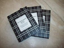 BURBERRY BRIT For Men Lot of 3 .06 oz EDT Sample Sprays Vials New on Cards