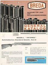 Breda 1963 Shotgun Catalog & Exploded Parts View (Long)