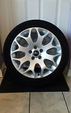 2008 FORD FOCUS 17 INCH ALLOY WHEEL + 205.50.17 Continental TYRE 8M5J-1007-AA