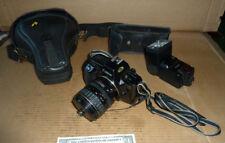 Vintage Canon EOS 650 Film Camera,Zoom Lens EF 28-80mm,Speedlite 420 EZ Flash