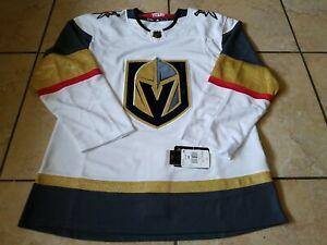 Adidas NHL Las Vegas Golden Knights Authentic Away Hockey Jersey White Size 50