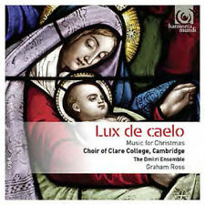 The Choir of Clare College, Cambridge : Lux De Caelo: Music for Christmas CD