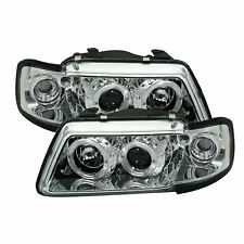 Audi A3 MK1 1996 - 2000 Chrome Angel Eye Projector Headlights - 1 Pair