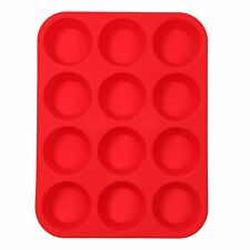 Silicone Donut Mould Muffin Cupcake Nonstick Doughnut Mold Baking Waffle Pantray 6 Cavity