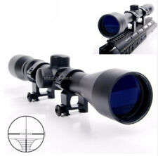 Hunting 3-9x40 Riflescope Air Optics Rifle Scope Sight With 20mm Rail Mount