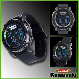 KAWASAKI DIGITAL WATCH, Black (186SPM0033)