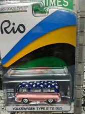 '16 Greenlight Volkswagen Vw Type 2 T2 Bus United States Usa Rio Olympics