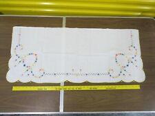 40x17 Floral Madeira Linen Dresser Scarf Runner 2