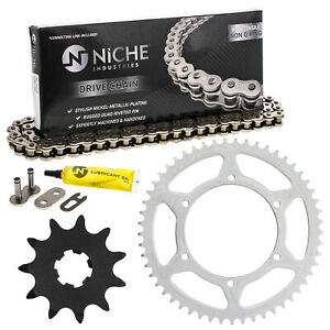 Sprocket Chain Set for Aprilia RS 50 SX 50 RS4 50 11/53 Tooth 420 Rear Front