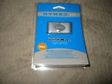 Dynex Dx-Crmn1 Mini Memory Card Reader/Writer for Laptop Computer Pc New In Box