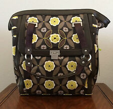 Petunia Pickle Bottom Java Continental Carryall Large Purse Tote Travel Bag