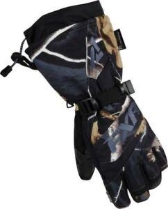 Brand New FXR Women's Fusion Glove AP ~ Black ~ X-Large -  # 15614.13316
