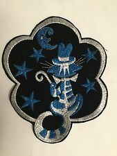 Large Blue 8 1/2 X 6 Inches Cat In The Hat 1970 Vintage Unused Patch
