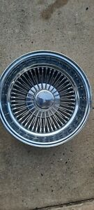 15x7 Chrome 72 Spoke USA  real Dayton wire wheel 1990s , Lowrider *1pcs