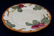 "Antique Pottery 1920's Weller Zona Plate 9"" Apple Design Authentic!"