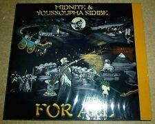 Midnite & Youssoupha Sidibe - For All / CD / 2008 / OVP Sealed / Sacred / Reggae