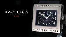 Hamilton Titanium Khaki Action Code Breaker Swiss Made Men's Automatic Watch NEW